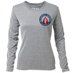 DC Capital Striders - Womens Long Sleeve Hybrid T
